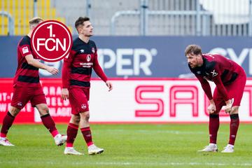 1. FC Nürnberg in der Krise! Nach Pleite in Sandhausen droht der Absturz!