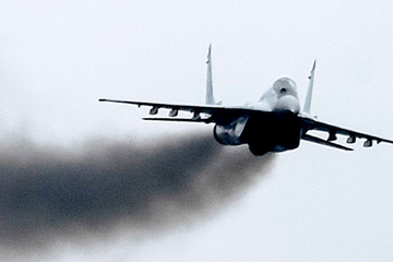 Bulgarisches Kampfflugzeug ins Schwarze Meer abgestürzt