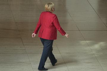 Am Wahlsonntag: Keine Fotos von Angela Merkel im Wahllokal