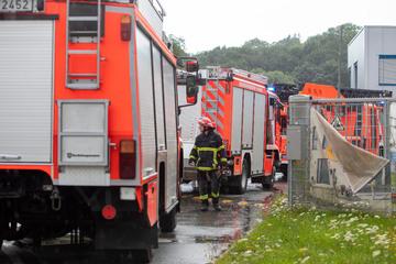 Explosionsgefahr in Plauen! Sauerstofftank undicht