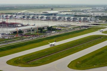 München: Baustelle München: Bessere Anbindung zum Flughafen kommt voran!