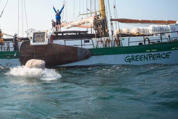 Greenpeace soll blechen: So teuer könnten die Steine in der Ostsee noch werden