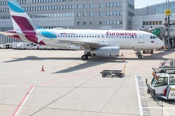Elf kurze Minuten! Eurowings-Maschine flog von Düsseldorf nach Köln