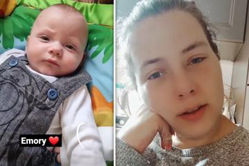 Riesen-Sorge um Sarafina Wollnys Zwillinge: Casey hatte Hirnblutung, Emory musste operiert werden!