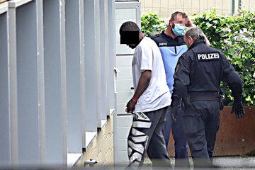Chemnitz: Randale im Klinikum, U-Haft: Rote Karte für Ex-CFC-Kicker
