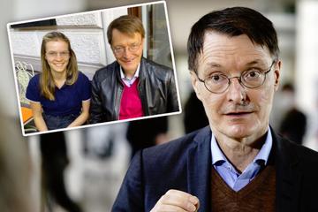 Seltener Schnappschuss: Hier zeigt sich Karl Lauterbach mit seiner Tochter Rosa