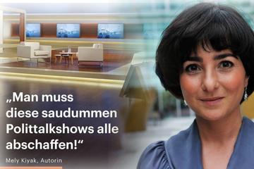 """Journalistin: """"Man muss diese saudummen Polit-Talkshows abschaffen!"""""""