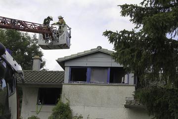Dachstuhlbrand in Dauchingen: Sohn soll Mutter getötet haben