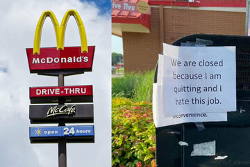 Unhappy meal: McDonald's employee shuts down entire restaurant with one dramatic note!