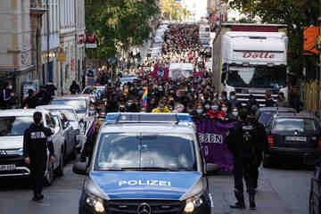 Dresden: Mehrere Demos: Breiter Widerstand gegen Pegida in Dresden