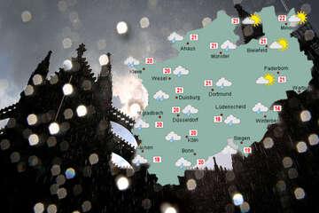 Wechselhaftes Wetter für NRW im Anmarsch: Schauerartiger Regen möglich