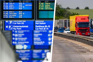 Große Reiselust an sächsischen Airports - kaum Staus auf den Autobahnen