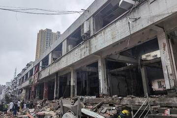 Mindestens zwölf Tote und 37 Schwerverletzte nach Explosion auf Marktplatz