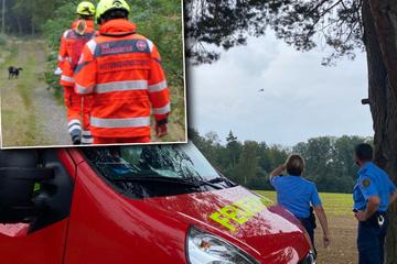 Hilfeschreie aus sächsischem Wald! Großeinsatz mit Hubschrauber und Hunden