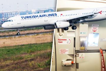 Kurz vorm Start die Flugzeugtür geöffnet: Typ verpasst Haartransplantation