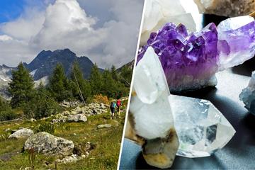 Wildromantische Bergwelt lädt zum Wandern auf der Spur der Steine