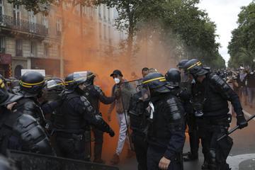 Coronavirus: 160.000 demonstrieren gegen Corona-Regeln in Frankreich