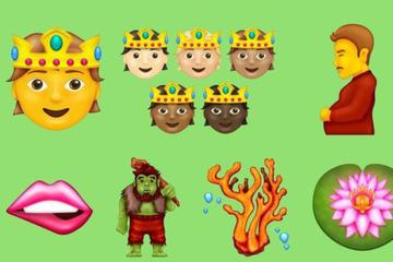 Schwangerer Mann, Bohnen, Discokugel: 37 neue Emojis für Textnachrichten!