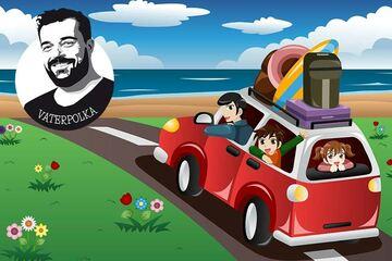 Autofahrt mit Kindern: Papa and the Furious