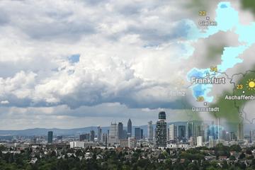Das Hessen-Wetter bis zum Wochenende: Immer wieder Schauer und Gewitter möglich