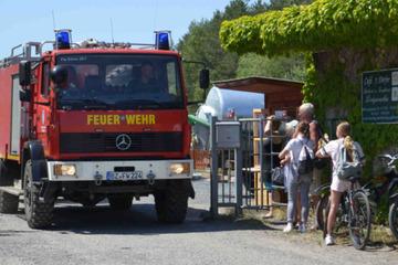 Tragödie im Waldbad Königswartha: Vermisster Mann leblos aus See geborgen