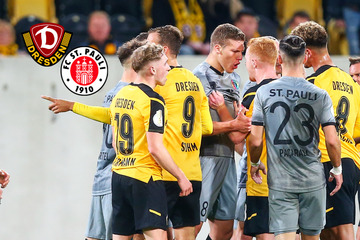 Bitter für Dynamo: SGD verliert Pokal-Fight gegen St. Pauli nach 120 Minuten