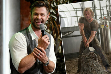 To look like a bull: That's how much Marvel star Chris Hemsworth eats in one day!