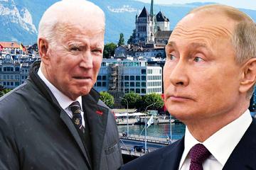 """Biden trifft auf """"würdigen Gegner"""" Putin: Gipfel der Giganten am Genfersee"""