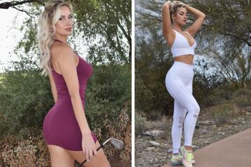 Heiße Golferin verdeutlicht anschaulich, wie sie auf Penisfotos reagiert