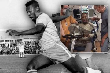 """Pelé radelt sich """"zurück zu Santos"""": Video macht nach Krankenhaus-Tortur Mut!"""