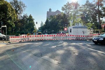 Baustellen Chemnitz: Früher als geplant: Am Mittwoch wird diese Vollsperrung in Chemnitz aufgehoben