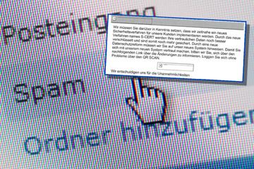 Polizei warnt vor gefährlicher Masche: Diese Mail solltet Ihr sofort löschen!