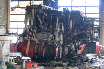 Nach Großbrand bei der Feuerwehr: Brandursache gibt Rätsel auf