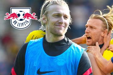 RB Leipzigs EM-Held Forsberg: Emil geknickt im Trainingslager eingetroffen