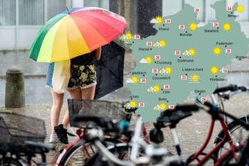 Deutscher Wetterdienst warnt vor Starkregen in NRW!