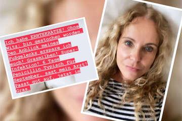 """""""Super-Infektion"""" dank Parasiten: Katja Burkard infiziert sich mit Erntekrätze!"""