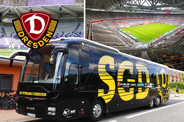 Dynamo Dresden reist insgesamt 15.110 km und gleich fünfmal in den Norden!