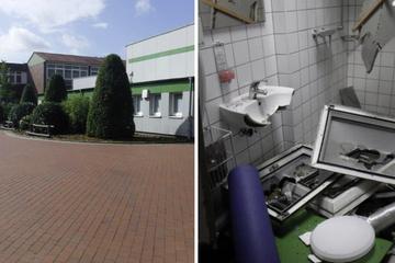 Sporthalle von Schule nach Zerstörungsorgie unbenutzbar!