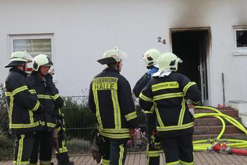 Mehrere Bewohner eingeschlossen: Ein Verletzter nach Wohnhausbrand in Halle