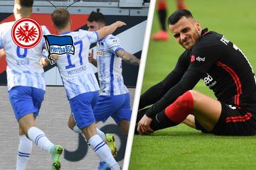 Hertha geht's kaum! Eintrachts Mega-Heimserie reißt - Berliner Krise abgewendet