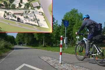 Chemnitz: Prost! Am Chemnitztal-Radweg entsteht ein Super-Biergarten
