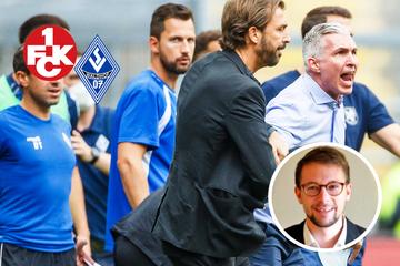 Meine Meinung: Derby-Fiasko zwischen FCK und Waldhof hätte verhindert werden müssen!