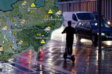 Regen in NRW: So grau wird das Wetter in der kommenden Woche