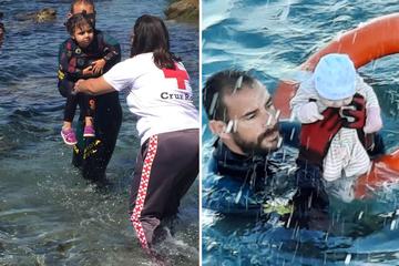 Dramatische Rettung von Migranten-Baby sorgt in Spanien für Aufsehen