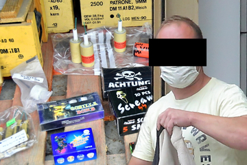 Mann hat Tüte voller Schmuggel-Böller dabei: So viel muss er jetzt zur Strafe blechen