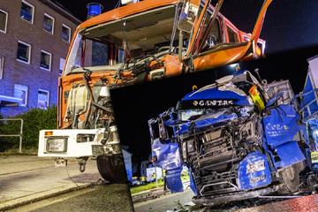 Schwerer Unfall: Löschfahrzeug kracht auf dem Weg zum Einsatz in Laster, neun Verletzte!