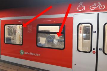 München: Nach Streit in Münchner S-Bahn: Mann schleudert Steine auf Kontrahent