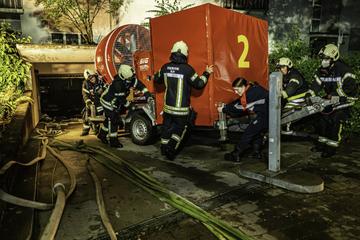 Überflutete Keller und Straßen in Ulm und Alb-Donau-Kreis: Feuerwehr im Dauerstress