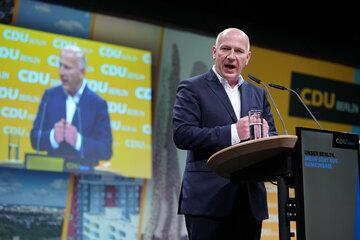 Berliner CDU nominiert Kai Wegner für das Amt des Regierenden Bürgermeisters