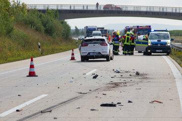 Unfall A73: Seniorin (84) wird Geisterfahrerin: Zwei Personen auf A73 verletzt